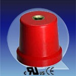 insulating spacers, female thread 2x